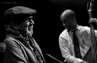Charles Lloyd and Reuben Rogers 1518z BW