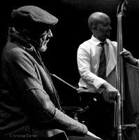 Charles Lloyd with Reuben Rogers 1508z BW